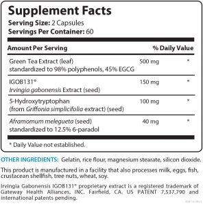 bioleptin-ingredients